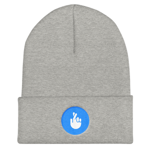 Fingers-Crossed Beanie