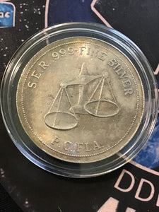 Vintage .999 Southeast Refining Silver 1 oz. Round