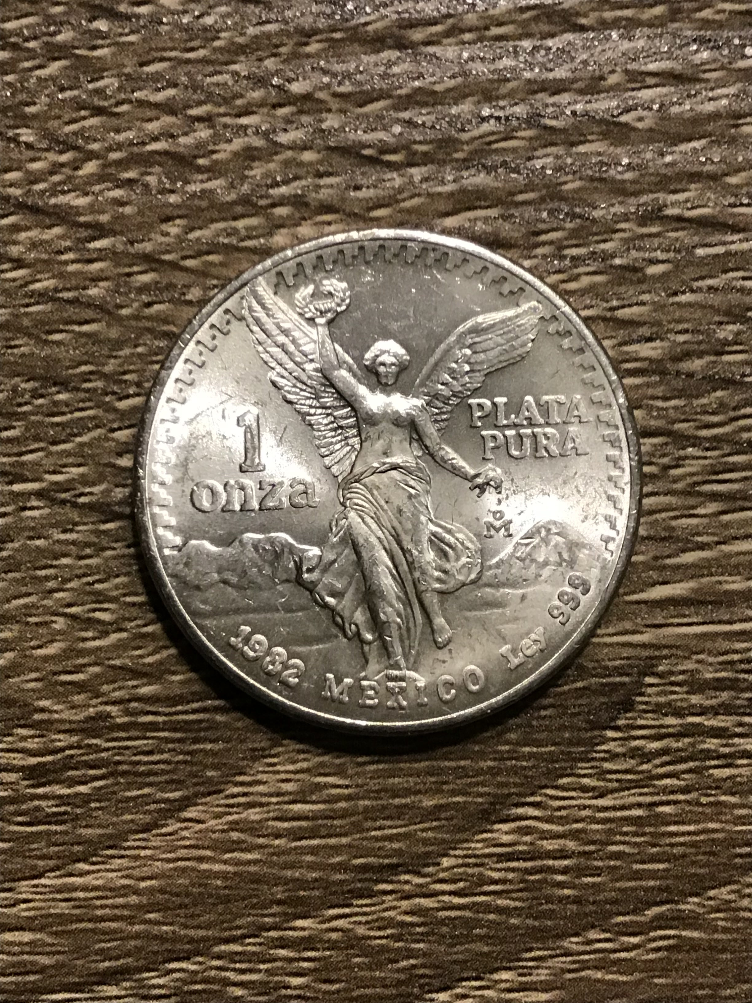 1982-First Year Minted! Mexico Libertad 1 Onza .999 Silver 🇲🇽