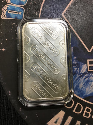 Engelhard 1 oz. Horizontal Logo 1 oz. Silver Bar