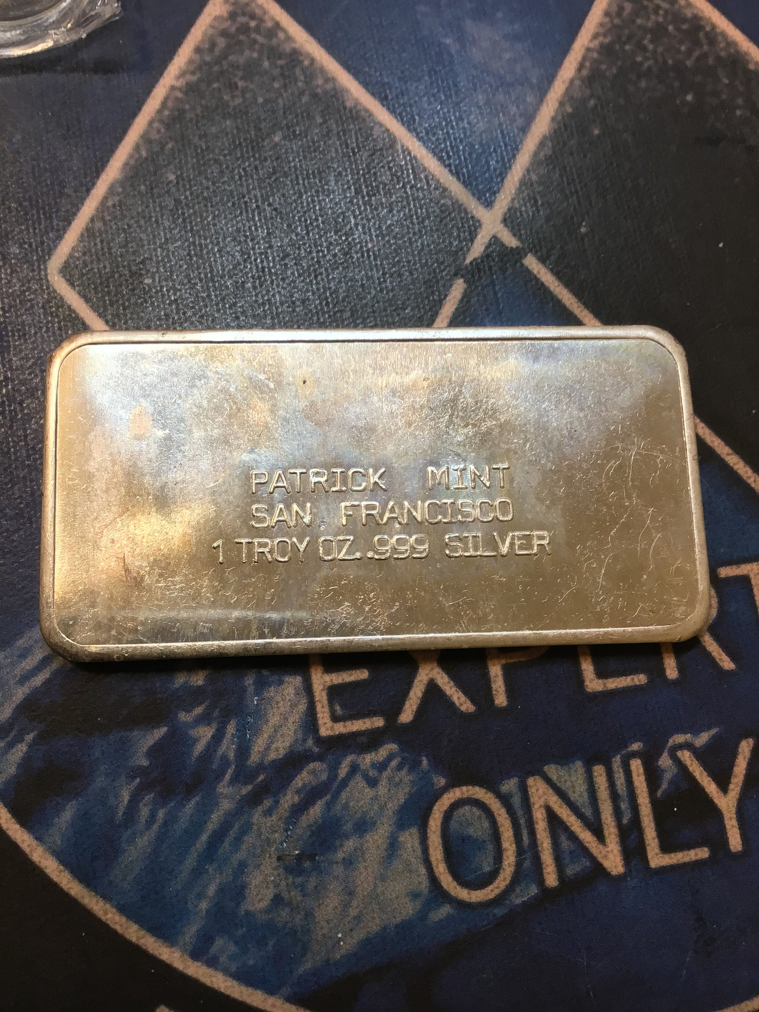 Spirit of '76 - The Patrick Mint 1 oz. Silver Bar .999 Fine