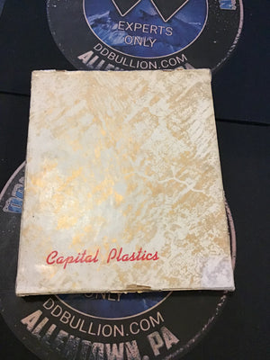 Capital Plastics All Mints $2.50 Gold Acrylic Holder