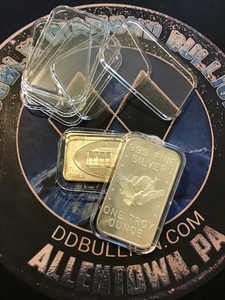 5-Air-Tite 1 oz. Silver Bar Protectors