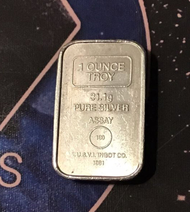 USVI Ingot Co. /  A-Mark Classic 1 oz. Silver Stacker .999