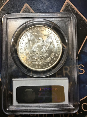 PCGS 1887 MS64 Morgan Silver Dollar