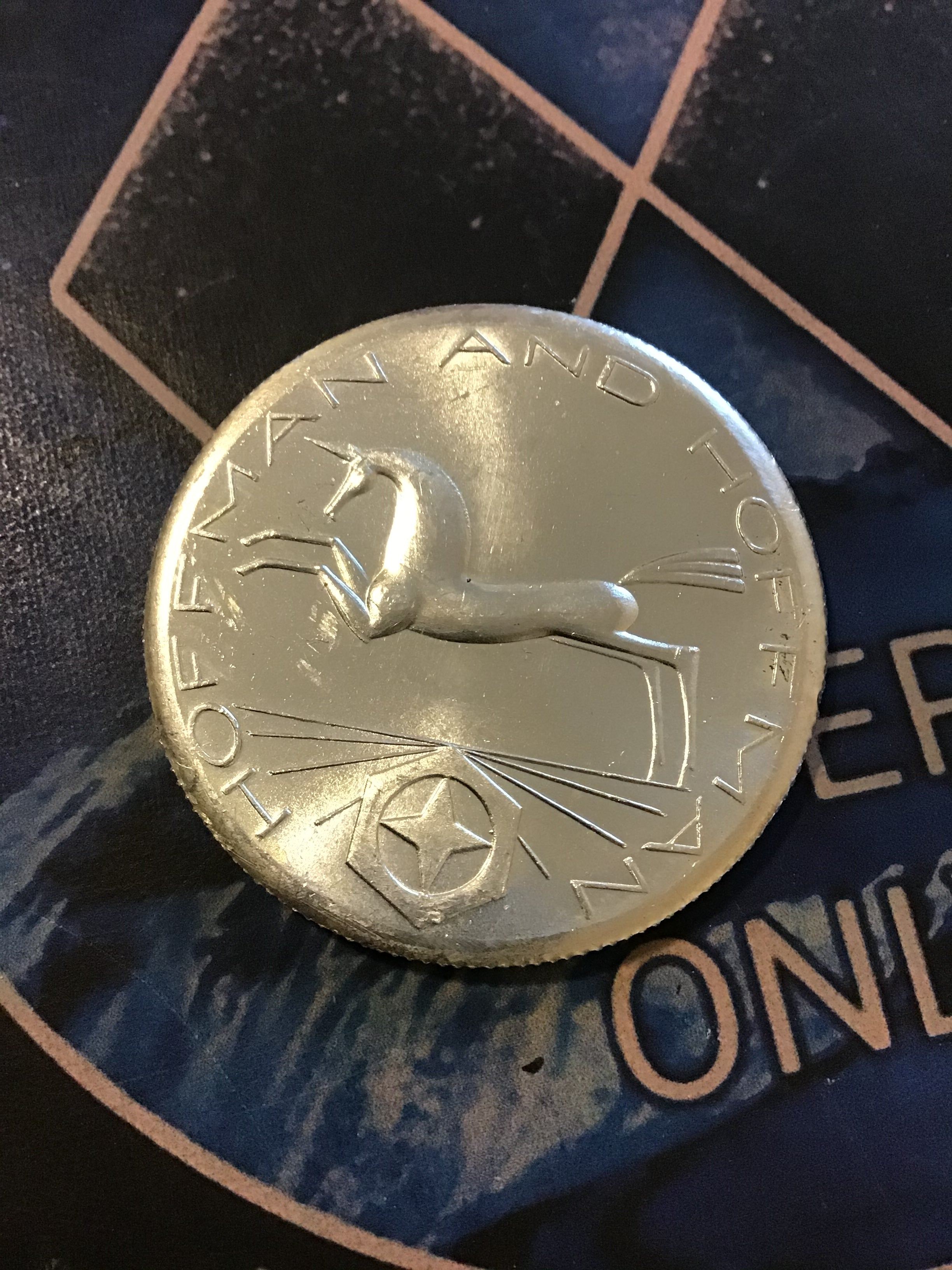 1981 Rare Hoffman and Hoffman Unicorn .999 1 oz. Silver Round