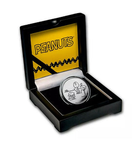 Peanuts Valentines Day 1 oz. Silver Proof Coin .999