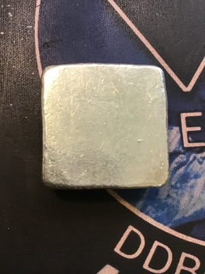 Monarch Precious Metals 50 Gram Square Poured Ingot