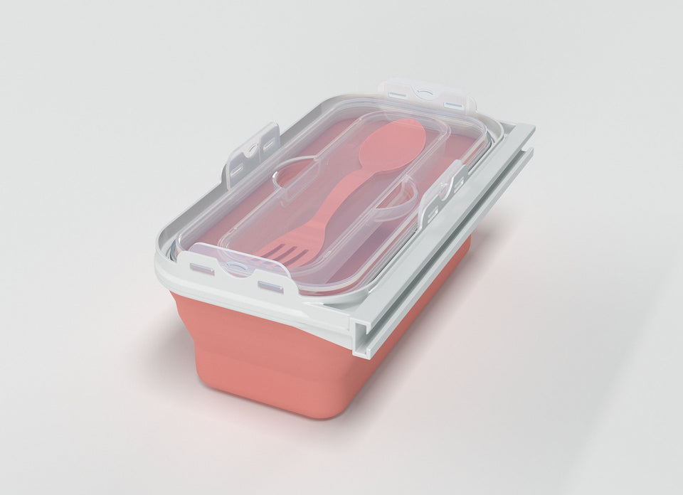 Medium Compartment (with Utensil)