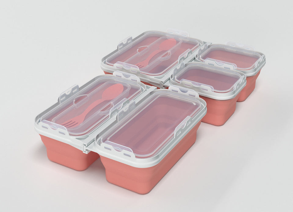 The Elite <br> <b>Food Storage Container Set</b>
