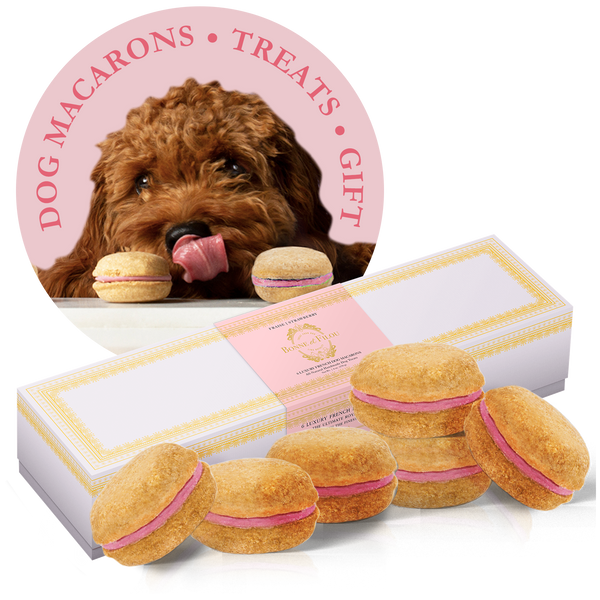 Strawberry Dog Macarons - Bonne et Filou