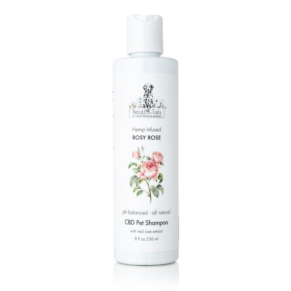 Rosy Rose Fields Hemp Pet Shampoo - Bonne et Filou