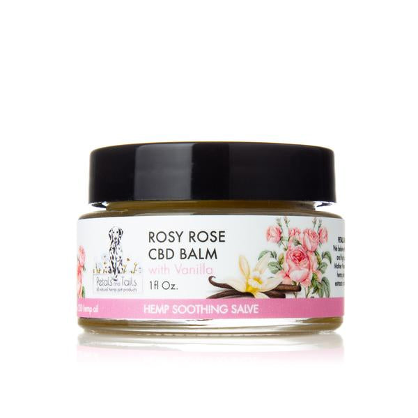 Rosy Rose Hemp Balm With Vanilla - 150MG - Bonne et Filou