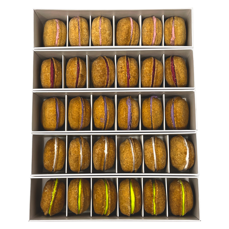 Bundle of 5-Boxes Dog Macarons (All Flavors) - Bonne et Filou