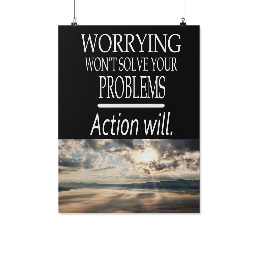 Worrying Won't Solve Your Problems