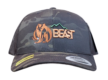 Load image into Gallery viewer, The Bear - Multicam Trucker Mesh Snapback