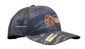 The Bear - Multicam Trucker Mesh Snapback