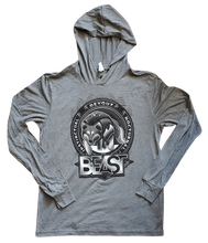 Load image into Gallery viewer, The Wolf - Gray Pullover Hoodie