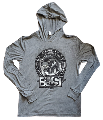 The Wolf - Gray Pullover Hoodie