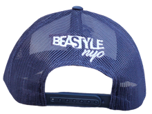 Load image into Gallery viewer, The Gorilla - Navy Blue/White Trucker Mesh