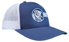 Load image into Gallery viewer, The Elephant - Navy Blue/White Trucker Mesh