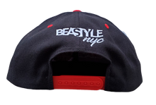 Load image into Gallery viewer, The Bull - Black/Red Snapback