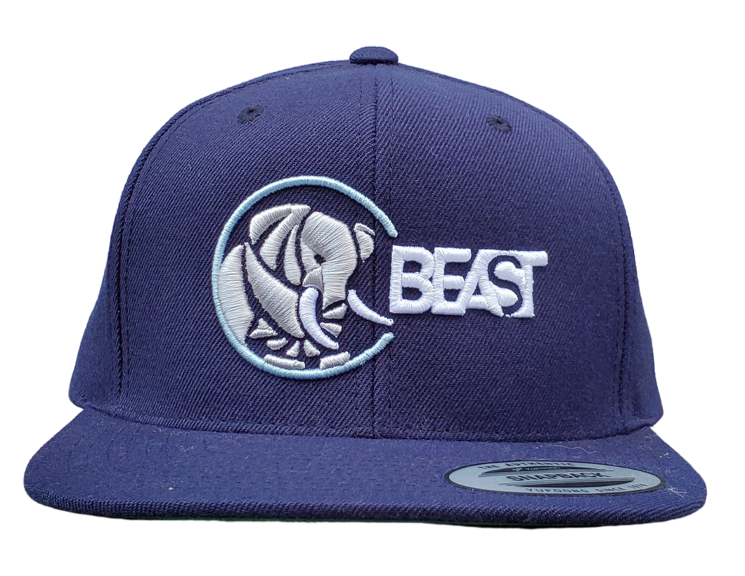 The Elephant - Navy Blue Snapback