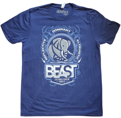 The Elephant - Navy Blue Tee