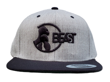 Load image into Gallery viewer, The Gorilla - Gray/Black Snapback