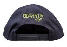 Load image into Gallery viewer, The Lion - Black Snapback (Various Logo Colors)
