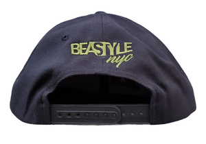 The Lion - Black Snapback (Various Logo Colors)