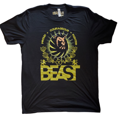 The Lion - Black Tee