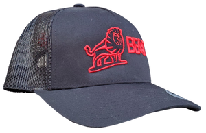 The Lion - Black Trucker Mesh (Various Logo Colors)