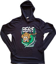 Load image into Gallery viewer, The Tiger - Black Pullover Hoodie