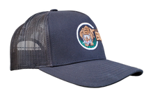 Load image into Gallery viewer, The Tiger - Black Trucker Mesh