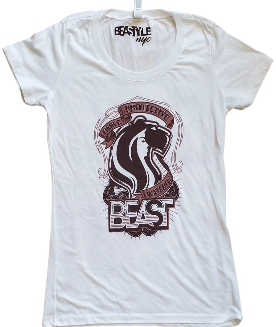 The Lady Lioness - White Tee