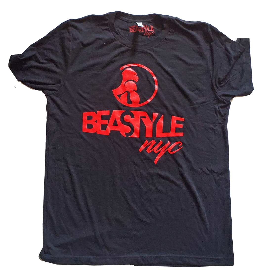 Black and Red Beastyle NYC Tee