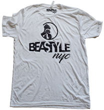 Load image into Gallery viewer, White and Black Beastyle NYC Tee