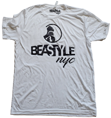 White and Black Beastyle NYC Tee