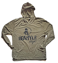 Load image into Gallery viewer, Camo Green Pullover Hoodie with Black Gorilla Beastyle Graphic