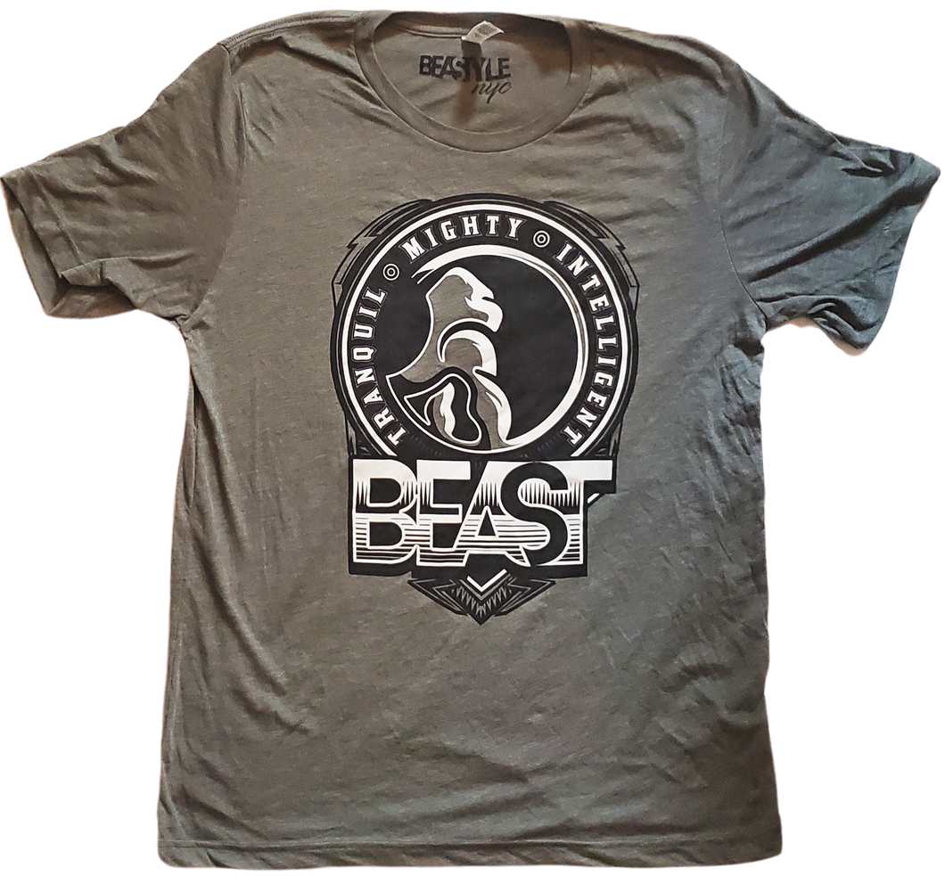 The Gorilla - Sage Green Tee