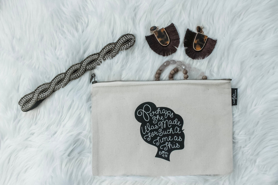PERHAPS SHE WAS MADE - COSMETIC BAG