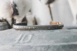She is Clothed- Bracelet