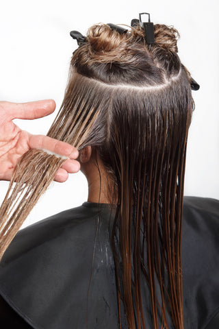 How to put in hair extensions yourself