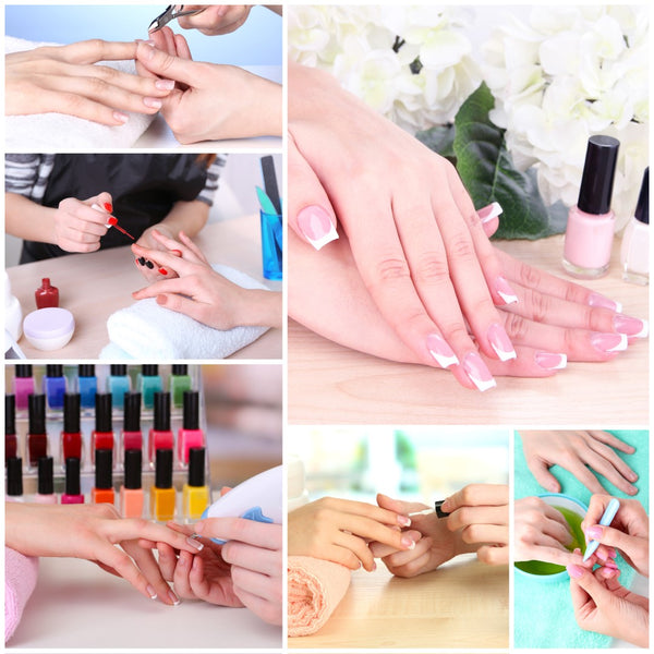 How to apply acrylic nails step by step