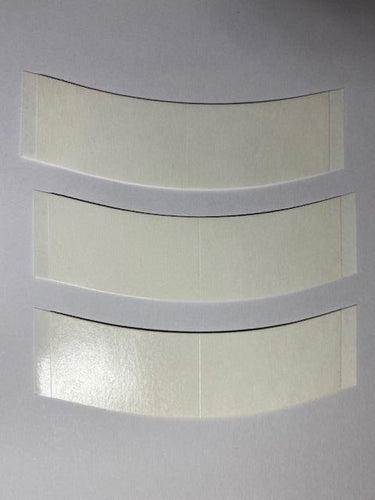 3M Clear 1522 Double Sided Toupee Tape 'C' Contour Strips