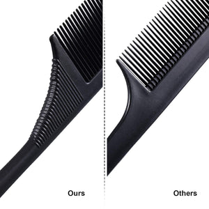 Teasing Combs With Stainless Steel Lift 3 Pack