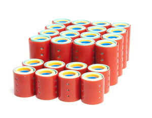 Magnetic Plastic Hair Rollers Set 144-Piece