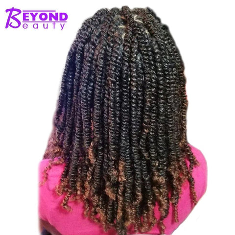 3 Pack Spring Twist Ombre Colors Crochet Hair Bounce Twist By Beyond Beauty