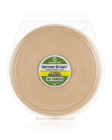 Brown Liner / Cloth / German Brown Tape Roll 3/4